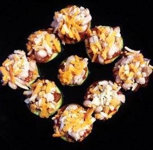 Mexican Zucchini Bites