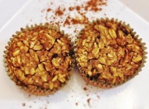 Cinnamon Raisin Oat Muffins