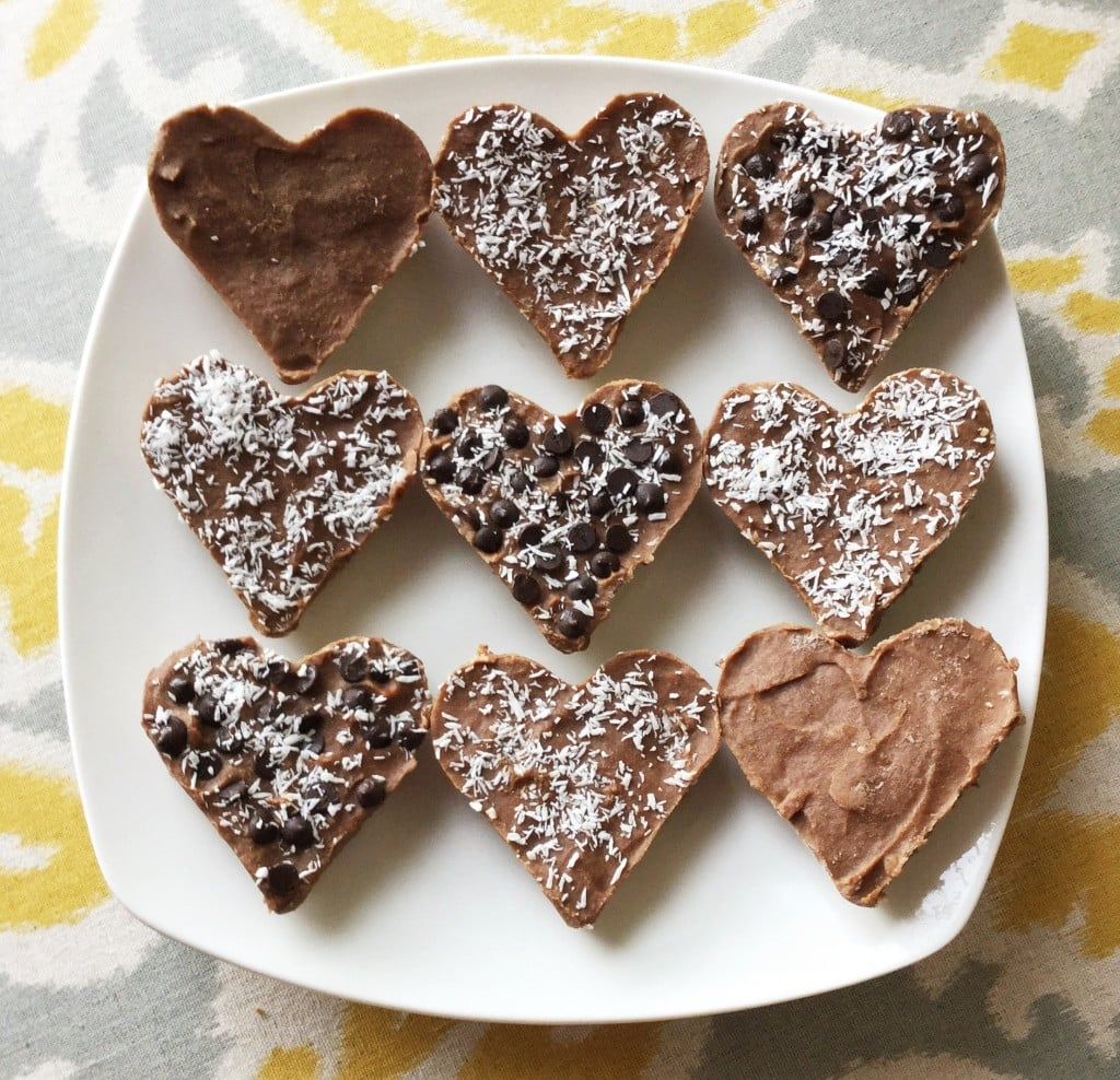 Heart-Shaped Mini Chocolate Cream Cheesecakes