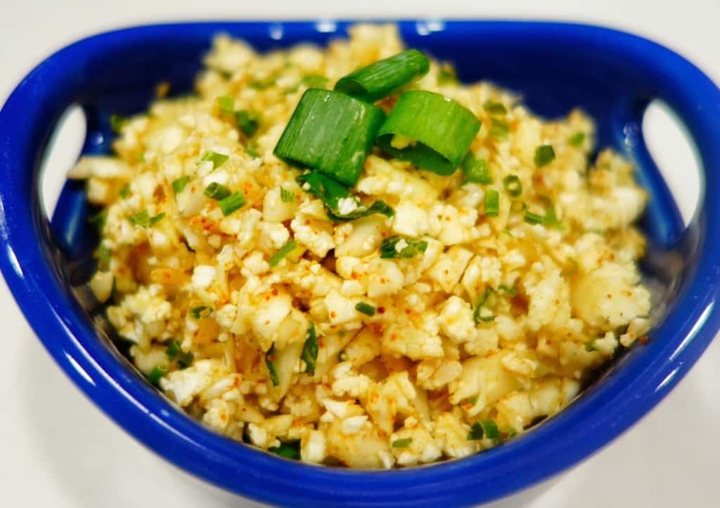 Mexican Cauliflower Rice (raw)