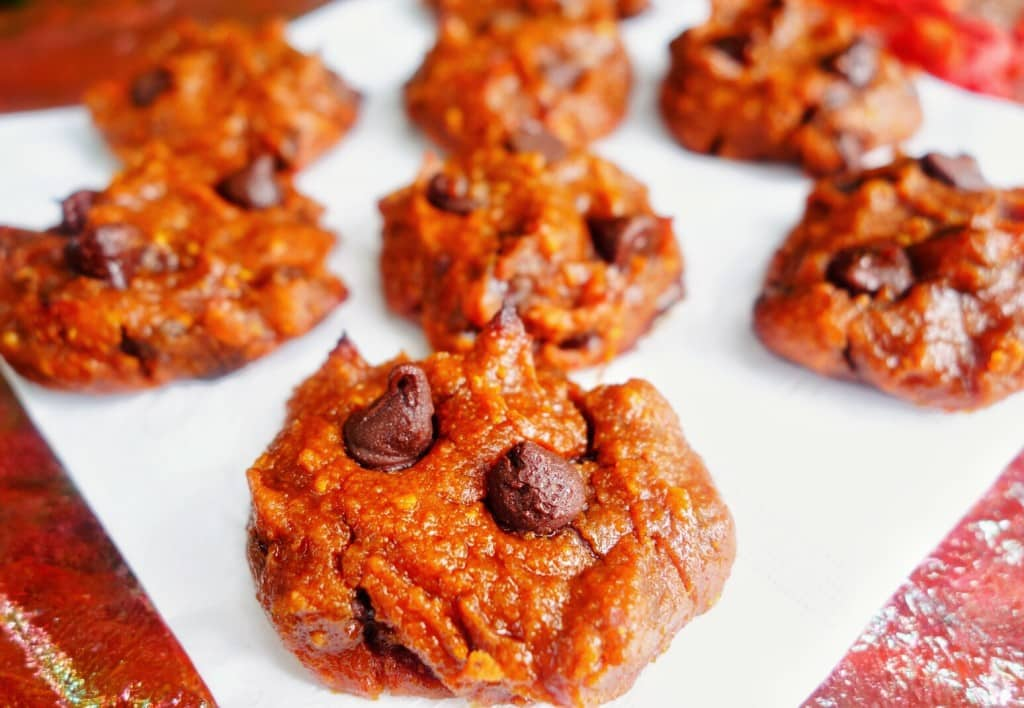 Goji Berrie Garbanzo Cookies