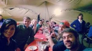 Amazon Race Thanksgiving Dinner
