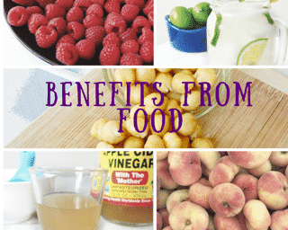 benefits from foods