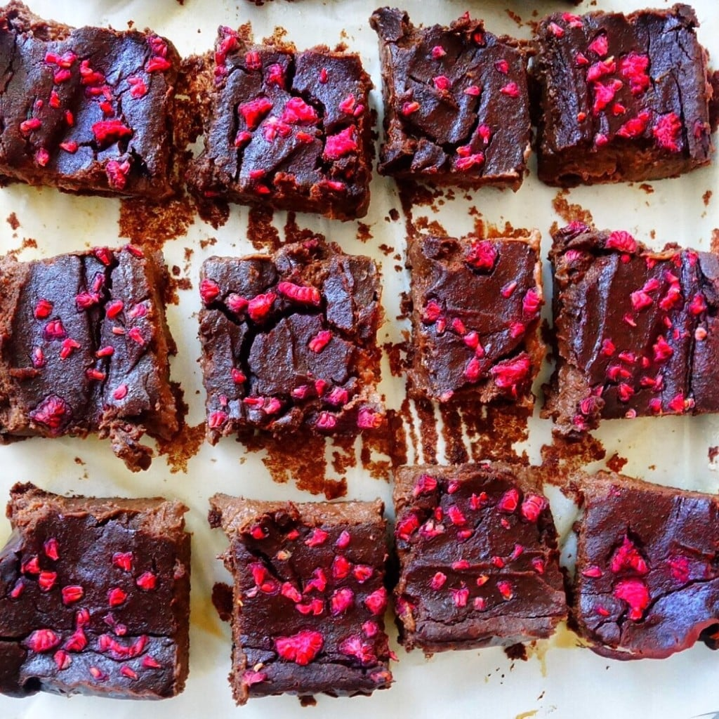 Gluten-Free Black Lentil Brownies