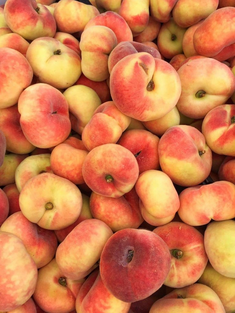 Health Benefits of Donut Peaches