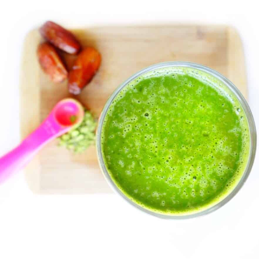 Sweet Green Matcha Smoothie