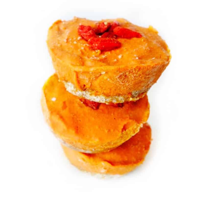 Goji Berry Vegan Cheesecake