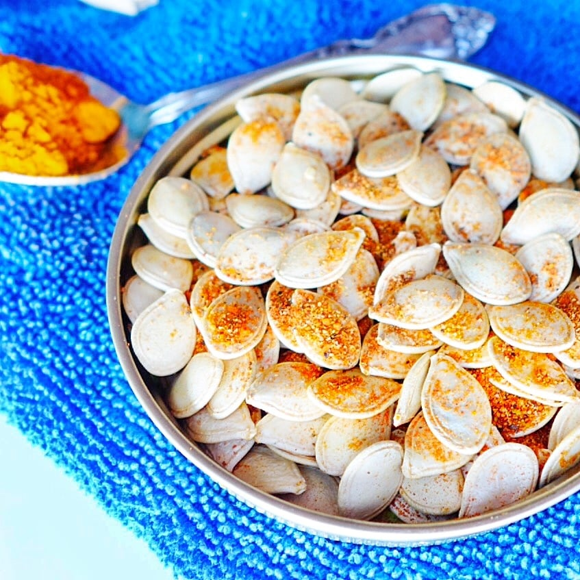 Anti-inflammatory Roasted Squash Seeds