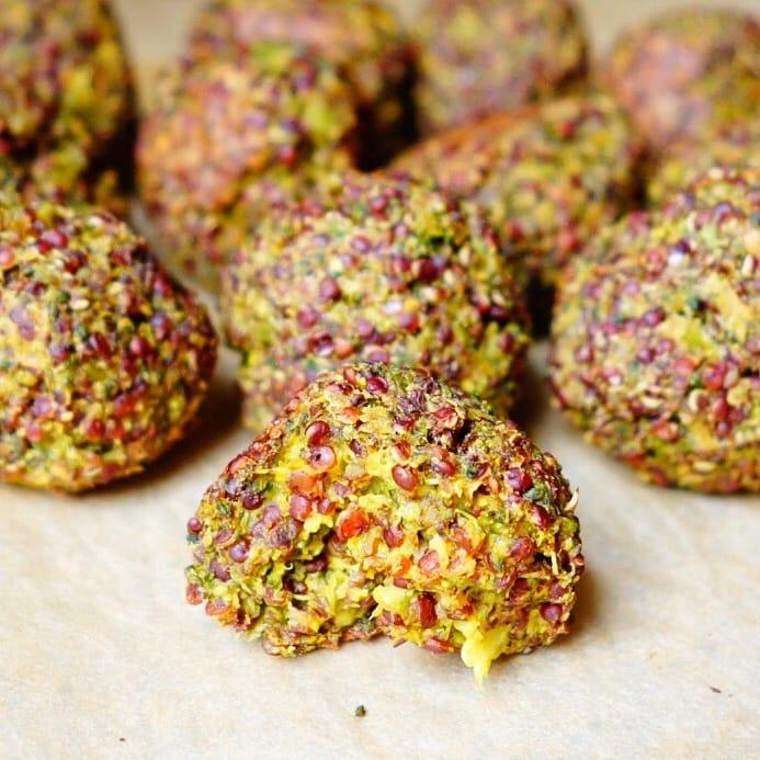 Broccoli Quinoa Balls