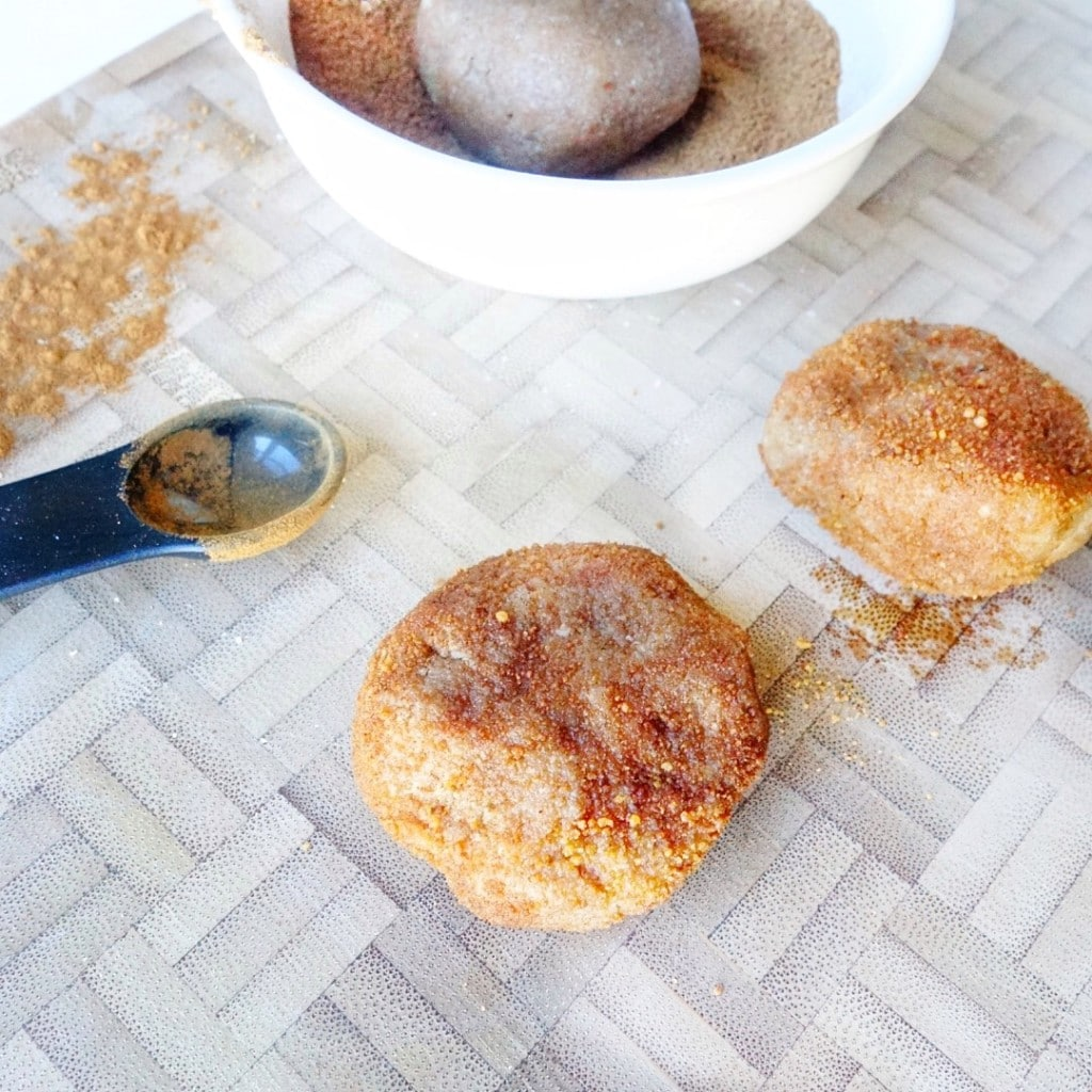 Vegan, Gluten-free Snickerdoodle Cookies