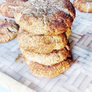 Grain-Free, Vegan Snickerdoodle cookies