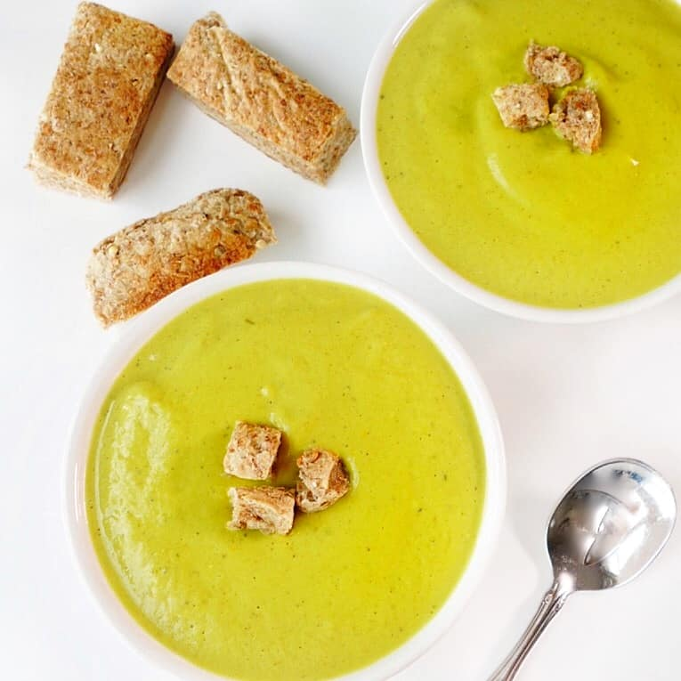 Creamy Healing Broccoli Soup