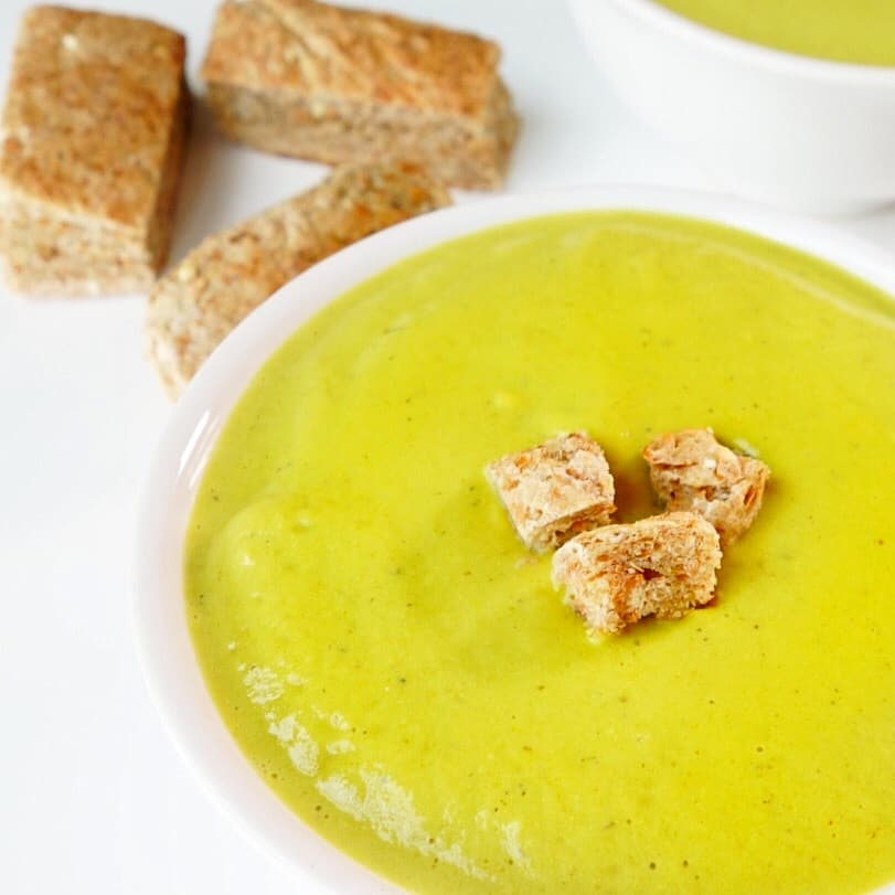 Healing Creamy Broccoli Soup