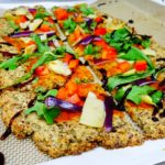 Arugula and Artichoke Flatbread (Grain-Free and Vegan)