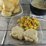 Plant-Based Biscuits and Gravy
