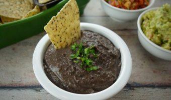 Black Bean Cilantro Dip