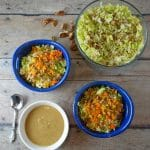 Simple Brussels Sprout Salad + Oil-Free Dressing