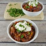 Simple and Hearty Veggie & Bean Chili