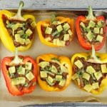 Stuffed Pizza Peppers
