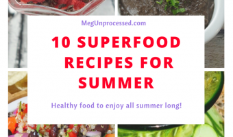10 Superfood Recipes For Summer