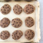 Flourless Oil-Free Chocolate Chip Cookies