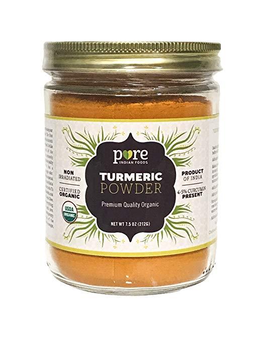 Pure organic turmeric