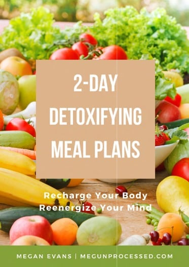 2 day detoxifying meal plans