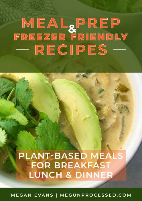 meal prep and freezer friendly recipes