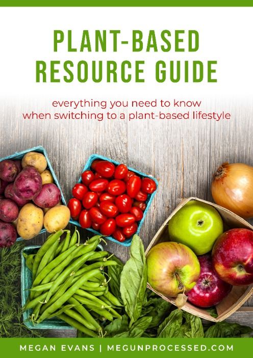 plant based resource guide ebook